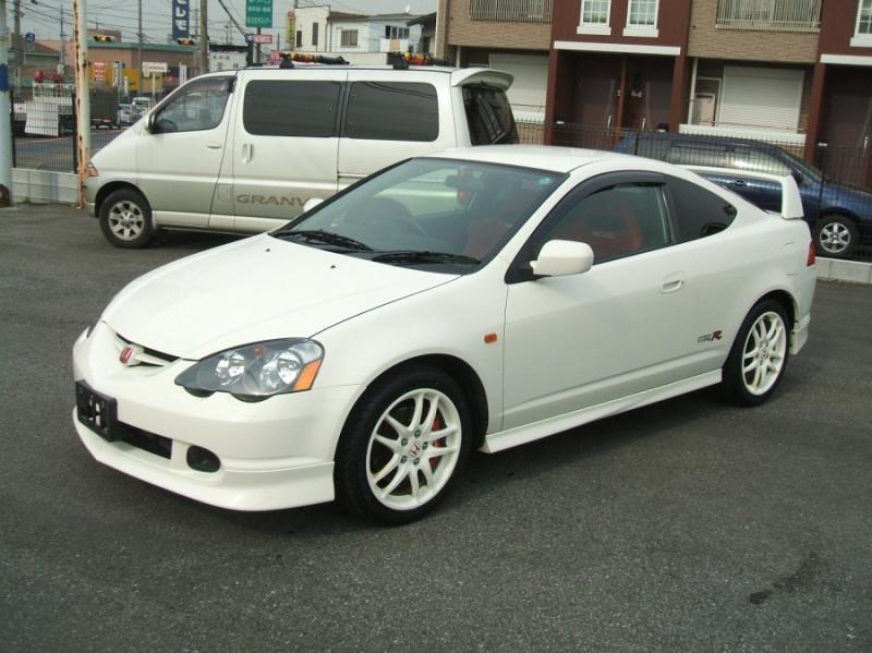 White Acura Rsx Jdm 2001 Honda Integra Typ...