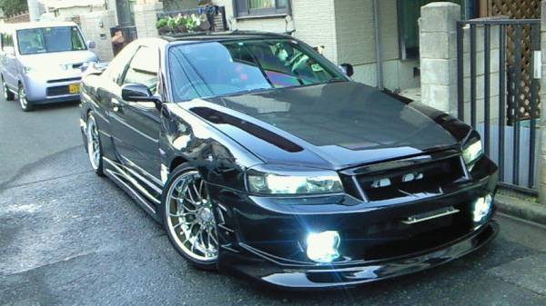 1998 nissan skyline r34 gt t abflug widebody