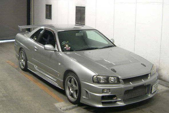1998 Nissan Skyline R34 GT-T 450PS 5 Speed Manual