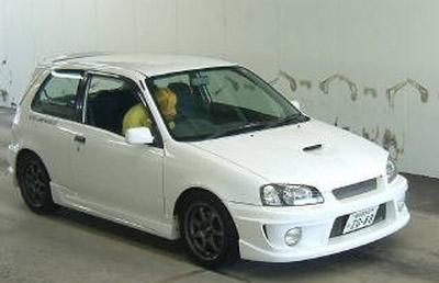 1996 Toyota Starlet Glanza V Turbo