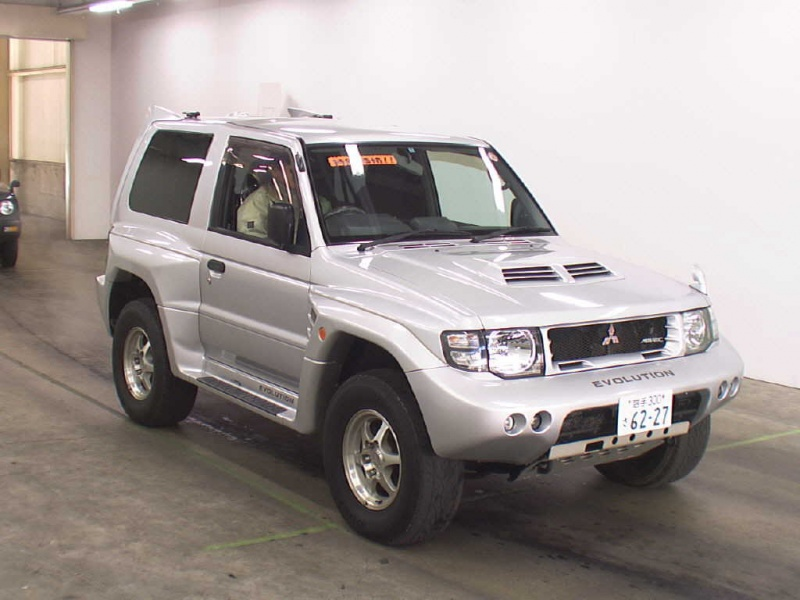 1998 Mitsubishi Pagero Evo Rare Manual on home car sales