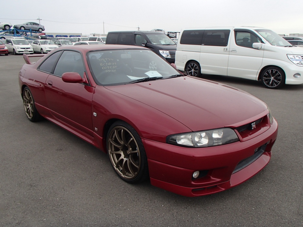 1995 nissan skyline r33 gtr rare red. Black Bedroom Furniture Sets. Home Design Ideas