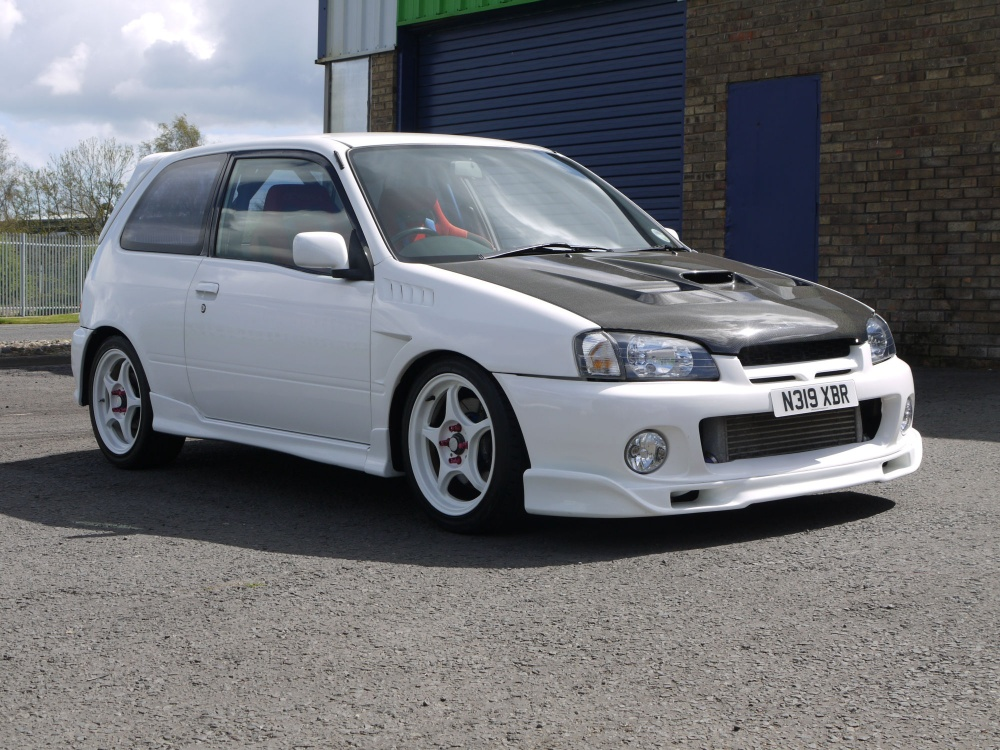 1996 toyota glanza ep91 220bhp forged engine