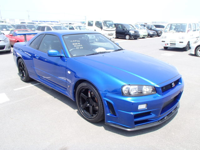 1999 Nissan Skyline R34 GTR 2.8L HKS Turbos 650PS