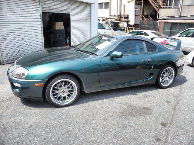 1996 Toyota Supra RZ-S 6 Speed Manual Green