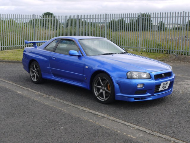 2001 Nissan Skyline R34 GTR 6 Speed 380PS