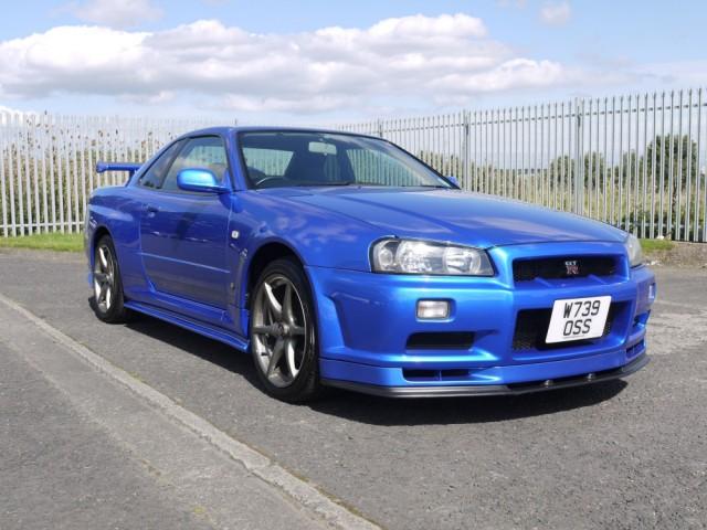 2000 Nissan Skyline R34 GTR 6 Speed Manual
