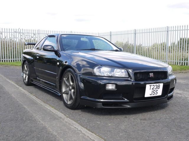 1999 Nissan Skyline R34 GTR 6 Speed Manual 400PS