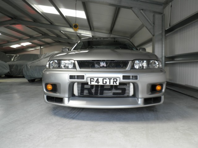 1997 Nissan Skyline R33 GTR RB30 (The Borg RIPS built)