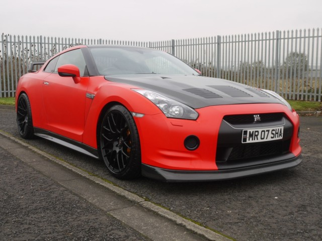 2009 Nissan R35 GTR Satin Red JM Forged Engine