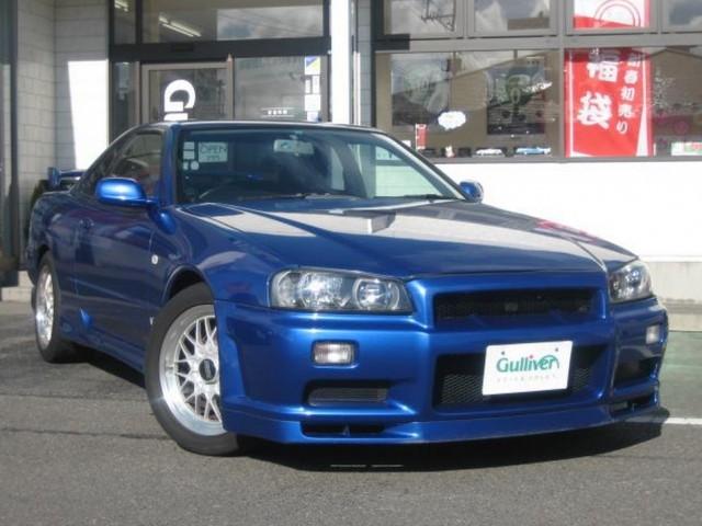 1999 Nissan Skyline R34 GT-T GTR front conversion