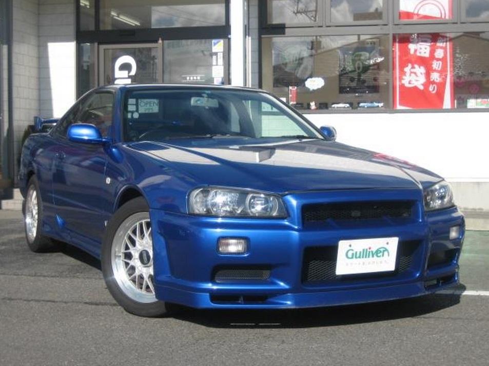Nissan Frontier Bumper >> 1999 Nissan Skyline R34 GT-T GTR front conversion - JM-Imports