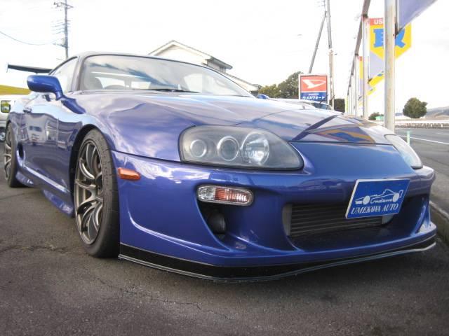 2001 Toyota Supra RZ HKS T51r 650PS 6 Speed Manual