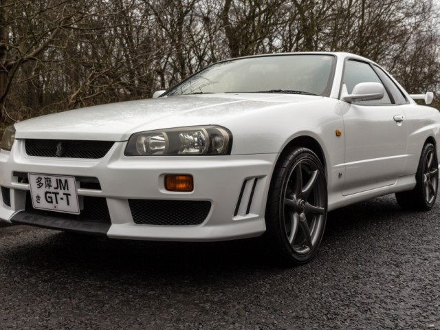 1998 Nissan Skyline R34 GT-T 5 Speed Manual