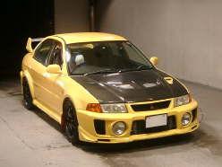 1998 Mitsubishi Lancer Evo V Rare Yellow