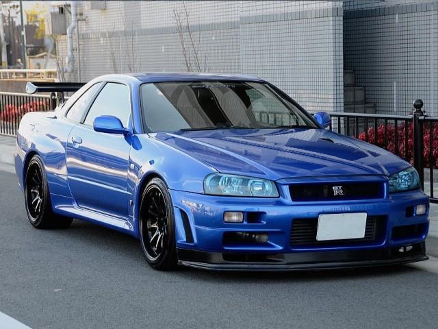 2001 Nissan Skyline R34 GTR V-Spec II Esprit 721PS