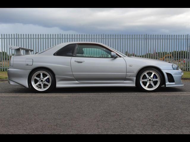 1998 Nissan Skyline R34 GT-T Drift Style 300PS